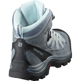 Salomon Authentic LTR GTX Shoes Women Lead/Stormy Weather/Eggshell Blue